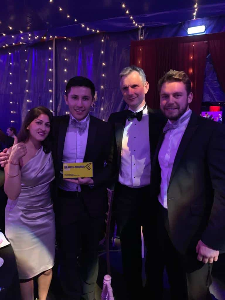 UK Search Awards, MoneySuperMarket 2018