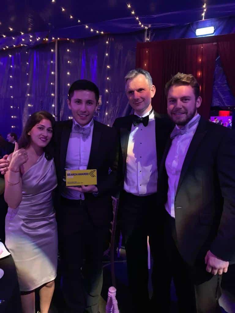 UK Search Awards, MoneySuperMarket 2018