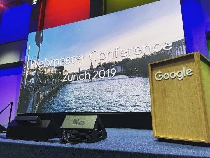 Key takeaways: Google Webmaster Conference, Zurich – Notes #WMCZRH