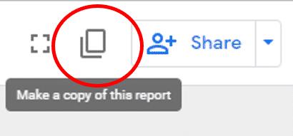 Copy the data studio report