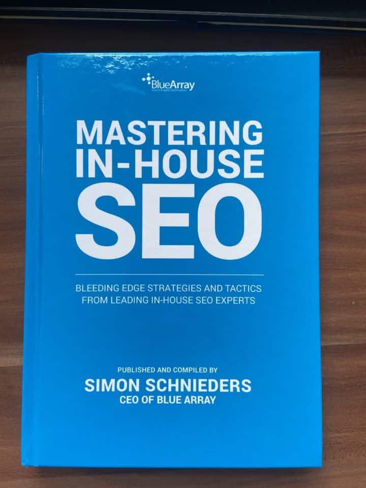 Mastering In-House SEO – Co-Author!